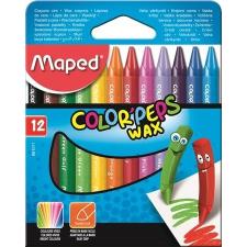 """MAPED Zsírkréta, MAPED """"Color'Peps Wax"""", 12 különböző szín kréta"""
