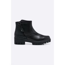 Marco Tozzi - Magasszárú cipő - fekete