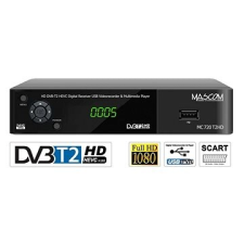 Mascom MC720T2 HD DVB-T2 H.265 / HEVC műholdas beltéri egység