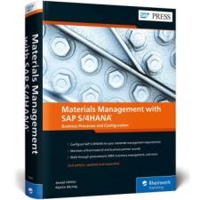 Materials Management with SAP S/4HANA – Martin Murray idegen nyelvű könyv