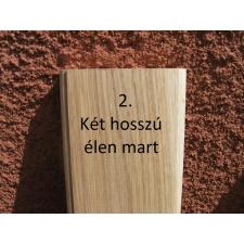 Mátra 140 cm-es tölgy kerítéselem 2. profil felületkezelve mahagóni színre építőanyag