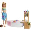 Mattel Barbie Wellness baba a fürdőben játékkészlet