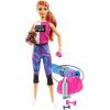 Mattel Barbie Wellness vörös hajú baba