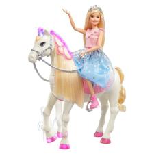 Mattel Mattel Barbie Princess Adventure Hercegnő és ló fényekkel és hangokkal barbie baba