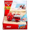 Mattel Verdák Wheel Action Drivers: Red, a tűzoltóautó