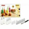 Max 11929 Sütemény díszítő szett 19 részes