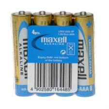Maxell Elem LR03 AAA tartós 4db-os (Mikro) Maxell ceruzaelem