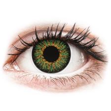 MaxVue Vision ColourVUE Glamour Green - dioptria nélkül (2 db lencse) kontaktlencse