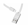 Mcdodo USB szinkronizáló és töltő kábel Apple iPhone - 25cm - fehér