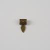 Medál rögzítő antik bronz 24x13x7mm 1db - MRAB1
