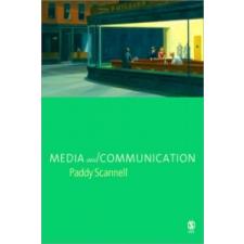 Media and Communication – P Scannell idegen nyelvű könyv