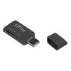 Media-Tech USB 2.0 kis méretű multi-kártyaolvasó (SDHC+MS+T-Flash+M2)