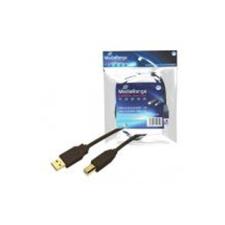 MediaRange USB kábel A-B 3m /MRCS103/ kábel és adapter