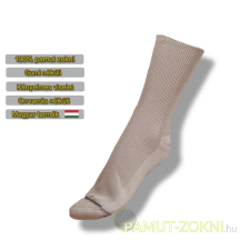 Medical, gumi nélküli zokni - Drapp 35-36 női zokni