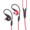 MEE audio M7P Secure-Fit Sports In-Ear Headphones with Mic Red