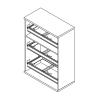 Megrendeléstől számított kb. 2 hét 111-3F-REG regiszterfiókos szekrény