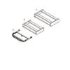 Megrendeléstől számított kb. 2 hét 8-KL-FA-K klavitartó (Asztal alatti kihúzható klaviatúratartó fiók)