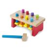Melissa & Doug Fa készségfejlesztő játék, kalapálós asztal