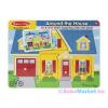 Melissa & Doug - Hangos Puzzle - A Ház Körül