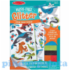 Melissa & Doug Melissa & Doug Kreatív játék, Glitter pufi matrica készítő, óceán