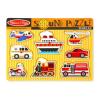 Melissa and Doug: hangos puzzle - járművek