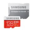 Memóriakártya, microSDHC Evo Plus, 128 GB, Class 10 + SD adapter, Samsung, gyári