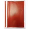 Memoris Gyorsfűző műanyag PP A4 PIROS 25db/csom