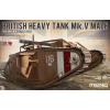 Meng-Modell MENG-Model British Heavy Tank Mk. V Male tank makett TS-020