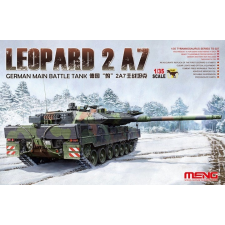 Meng-Modell MENG-Model German Main Battle Tank Leopard 2 A7 tank makett TS-027 makett figura