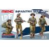 Meng-Modell MENG-Model IDF Infantry Set (2000-) figura makett HS-004