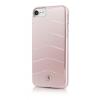 Mercedes-Benz iPhone 7 WAVE VIII Brushed Aluminium Hard hátlap, tok, rózsaszín