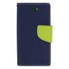 Mercury Goospery Mercury Fancy Diary Apple iPad Air kinyitható tok sötétkék-lime