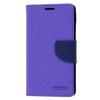 Mercury Goospery Mercury Fancy Diary LG H815 G4 kinyitható tok lila-kék