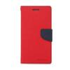 Mercury Goospery Mercury Fancy Diary Samsung G920 Galaxy S6 kinyitható tok piros-kék