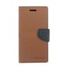 Mercury Goospery Mercury Fancy Diary Samsung G930 Galaxy S7 kinyitható tok barna-fekete
