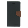 Mercury Goospery Mercury Fancy Diary Samsung N910 Galaxy Note 4 kinyitható tok fekete-barna