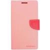 Mercury Goospery Mercury Fancy Diary Sony D6603 Xperia Z3 kinyitható tok pink-sötétpink
