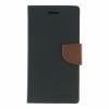 Mercury Goospery Mercury Fancy Diary Sony E6533 Xperia Z4 kinyitható tok fekete-barna