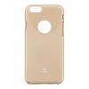 Mercury Goospery Mercury Jelly Apple iPhone 4G/4S hátlapvédő arany