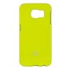 Mercury Goospery Mercury Jelly Samsung G925 Galaxy S6 EDGE hátlapvédő lime