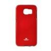 Mercury Goospery Mercury Jelly Samsung G925 Galaxy S6 EDGE hátlapvédő piros