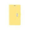 Mercury Goospery Mercury Rich Diary Samsung I9500, I9505 Galaxy S4 kinyitható tok sárga-sötétpink