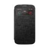 Mercury Goospery Mercury Viva Window Apple iPhone 4G/4S oldalra nyitható ablakos tok fekete