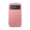 Mercury Goospery Mercury Viva Window Samsung N910 Galaxy Note 4 oldalra nyitható ablakos tok pink