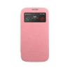 Mercury Goospery Mercury Wow Bumper Apple iPhone 4G/4S ablakos kinyitható tok pink