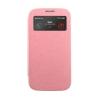 Mercury Goospery Mercury Wow Bumper Samsung A500F Galaxy A5 ablakos kinyitható tok pink