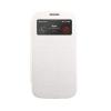 Mercury Goospery Mercury Wow Bumper Samsung A700 Galaxy A7 ablakos kinyitható tok fehér