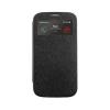 Mercury Goospery Mercury Wow Bumper Samsung G313 Galaxy Trend 2 Duos ablakos kinyitható tok fekete