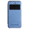 Mercury Goospery Mercury Wow Bumper Samsung G920 Galaxy S6 ablakos kinyitható tok sötétkék