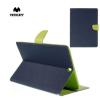 Mercury Samsung Galaxy Tab S2 9.7 3G - LTE (2016) (SM-T819) - MERCURY Goospery tok álló, bõr (FLIP, mágneses, oldalra nyíló, bankkártya tartó, asztali tartó funkció) KÉK